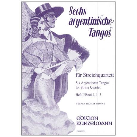 6 argentinische Tangos Band 1 (Nr. 1-3)