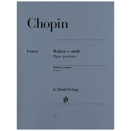 Chopin, F.: Walzer e-Moll Op. post.