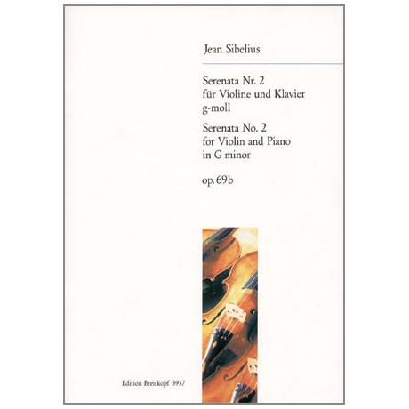 Sibelius, J.: Serenade Nr. 2 Op. 69b g-Moll
