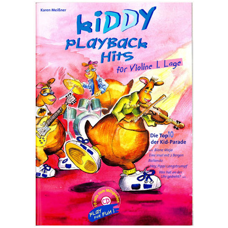 Meißner, K.: Kiddy Playback Hits (+CD)