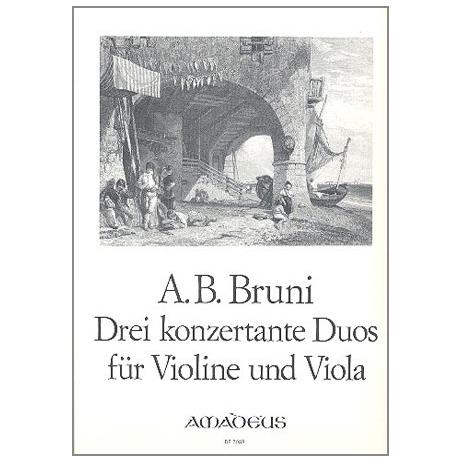Bruni, A. B.: 3 Konzertante Duos Op. 25,4-6