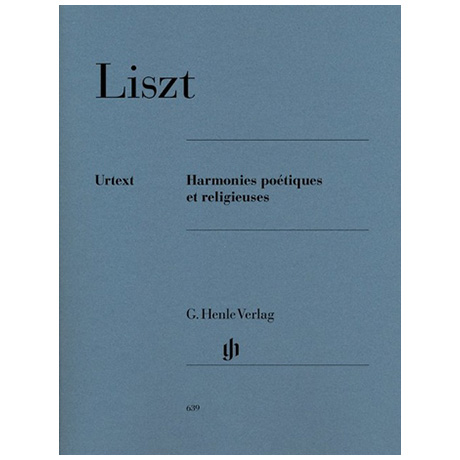 Liszt, F.: Harmonies poétiques et religieuses