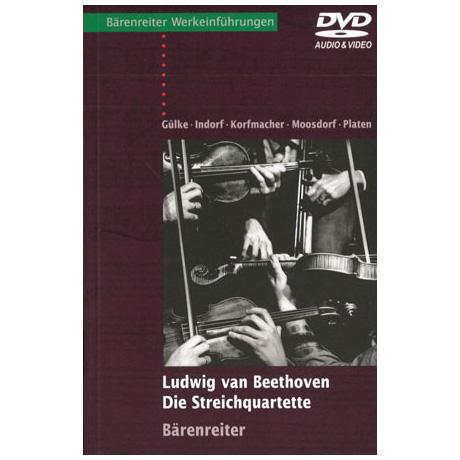 Ludwig van Beethoven – Die Streichquartette (mit Audio-Video-DVD)