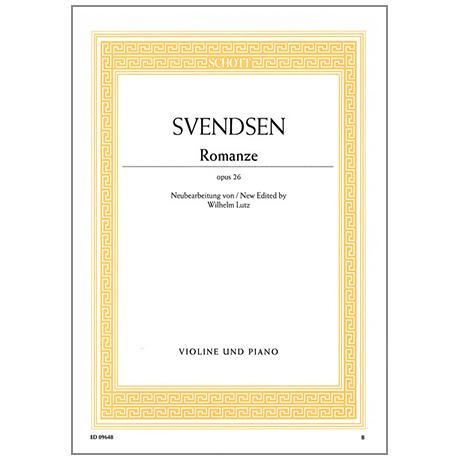 Svendsen, J. S.: Romanze Op. 26