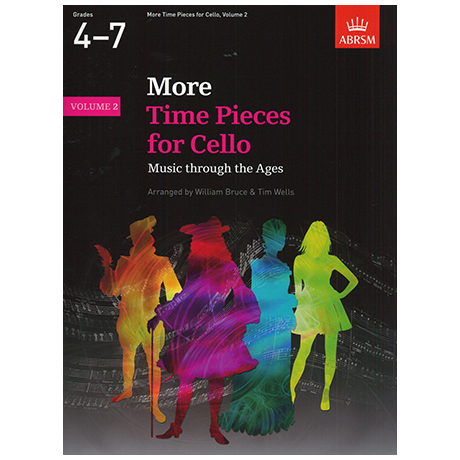 Bruce, W. / Wells, W.: More Time Pieces for Cello Band 2 – Music through the Ages