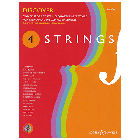 4 Strings: Discover – Partitur (+CD)