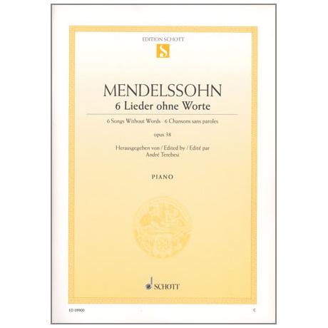 Mendelssohn Bartholdy, F.: 6 Lieder ohne Worte Op. 38