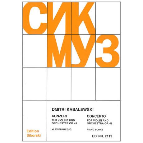Kabalewski, D.: Violinkonzert Op. 48