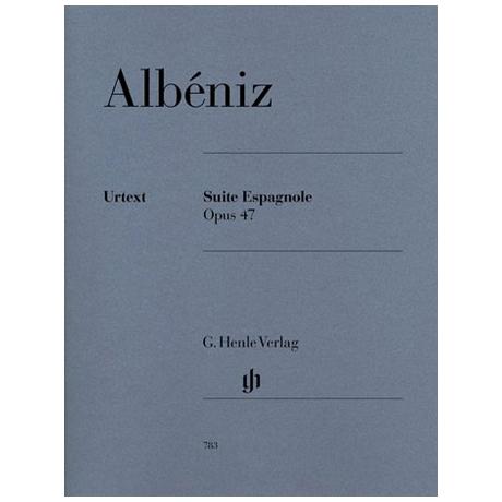 Albéniz, I.: Suite espagnole Op. 47