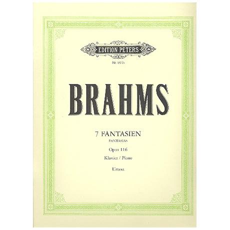 Brahms, J.: 7 Fantasien Op. 116