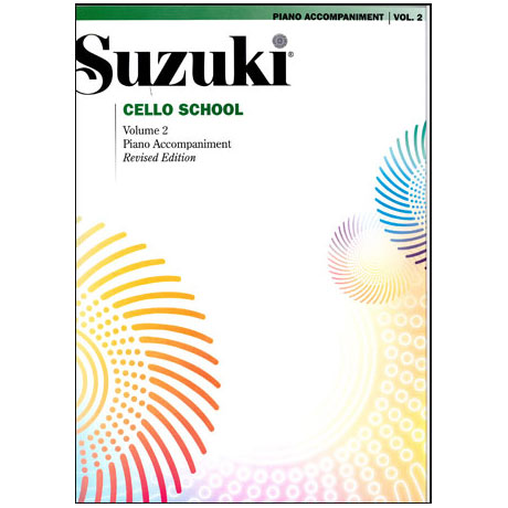 Suzuki Cello School Vol. 2 – Klavierbegleitung