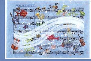 Kunstkarte »Wassermusik«