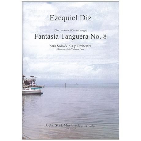 Diz, E.: Fantasía Tanguera No. 8