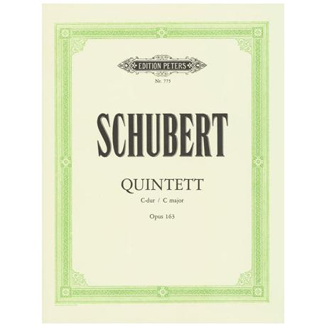 Schubert, F.: Streichquintett C-Dur, D 956