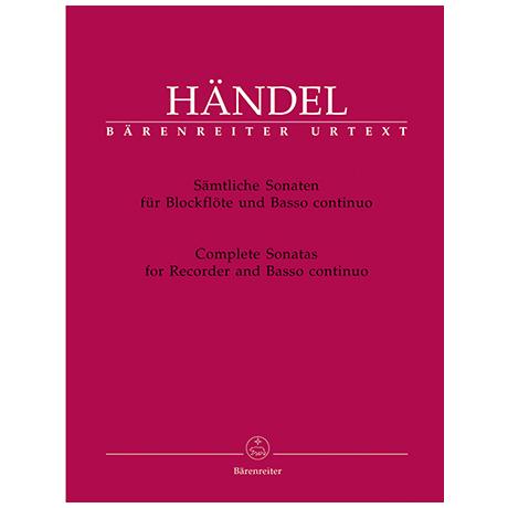 Händel, G. F.: Sonaten HWV 360, 362, 365, 367, 369 und 377
