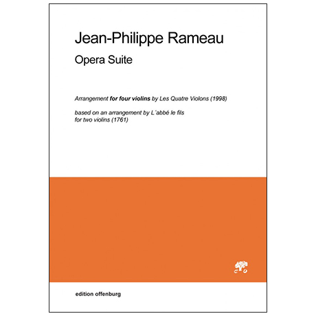 Rameau, J-Ph.: Opera Suite
