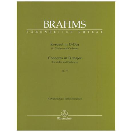 Brahms, J.: Violinkonzert Op. 77 D-Dur