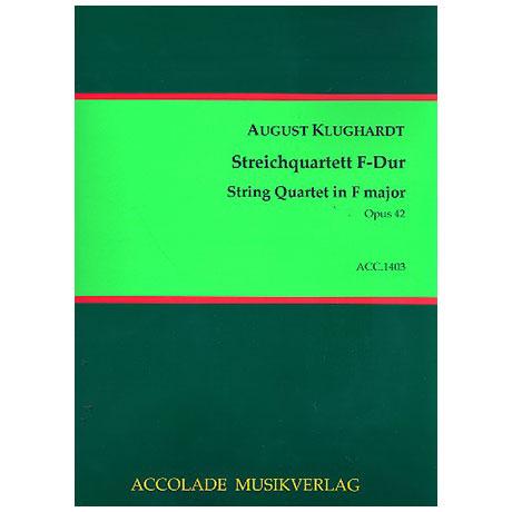 Klughardt, A.: Streichquartett F-Dur Op.42