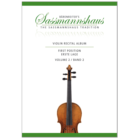 Sassmannshaus, K.: Violin Recital Album Band 2
