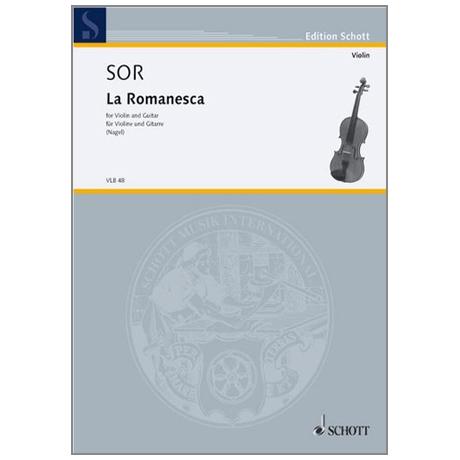 Sor, F.: La Romanesca