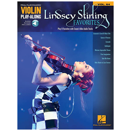 Lindsey Stirling Favorites (+Online Audio)