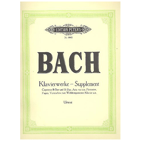 Bach, J. S.: Supplement