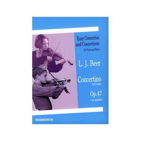 Beer, L.: Concertino in e-moll op. 47