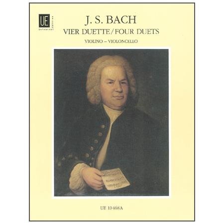 Bach, J. S.: 4 Duette nach BWV 802-805