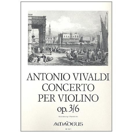 Vivaldi, A.: Concerto Op. 3 Nr. 6 RV 356 a-Moll