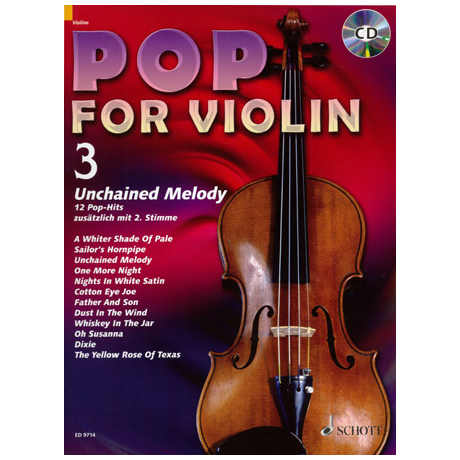Pop For Violin Vol. 3 (+CD)