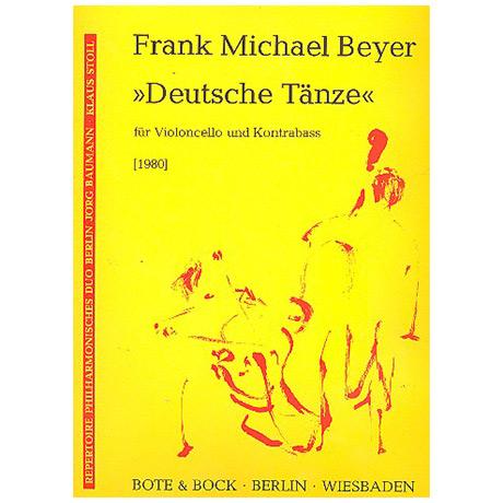 Beyer, F. M.: Deutsche Tänze