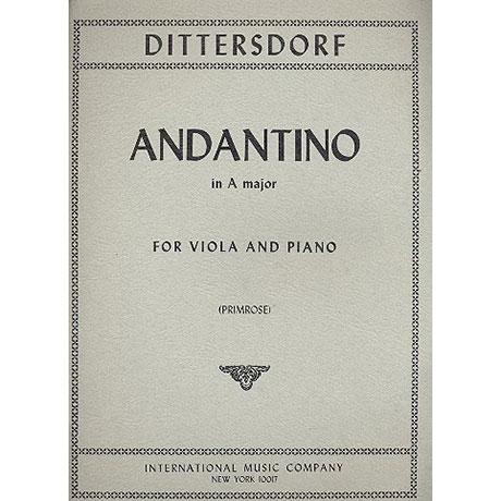 Dittersdorf, C.D.v.: Andantino