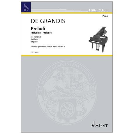 Grandis, R. d.: Preludi Heft 2