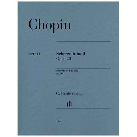 Chopin, F.: Scherzo h-Moll Op. 20