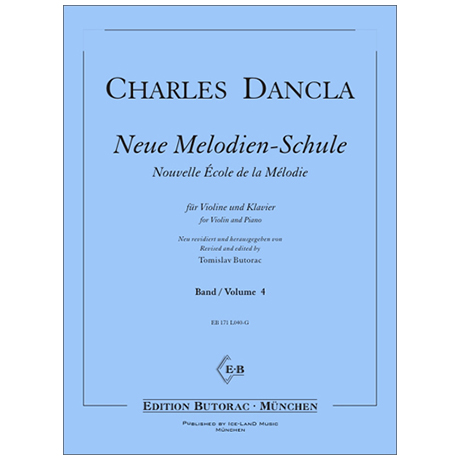 Dancla, J. B. Ch.: Neue Melodien-Schule Band 4