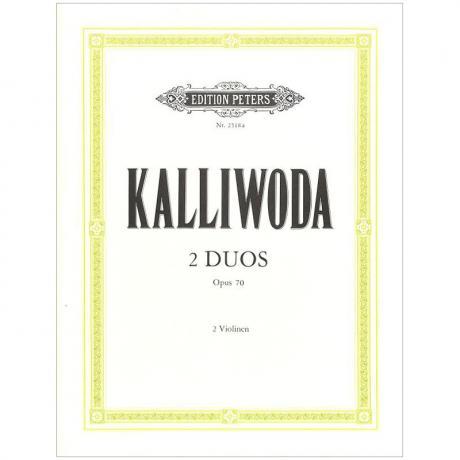 Kalliwoda, J. W.: 2 Duos Op. 70
