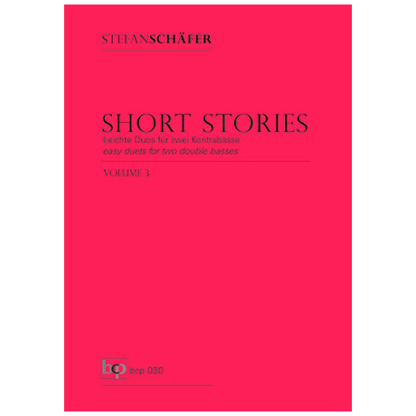 Schäfer, S.: Short Stories Band 3