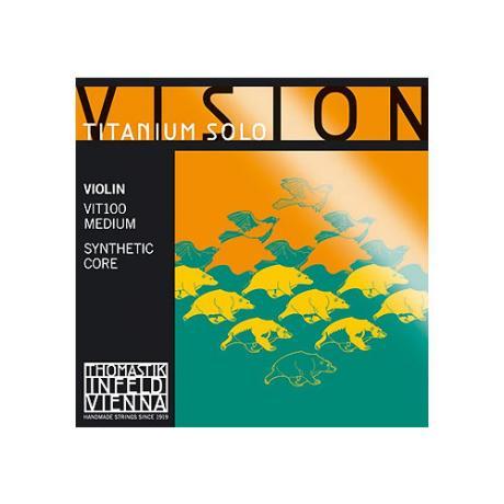 THOMASTIK Vision Titanium SOLO Violinsaite G
