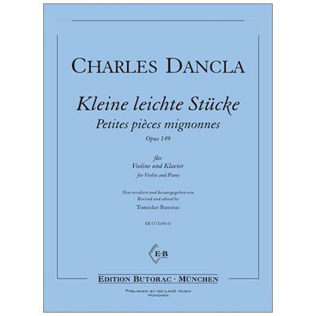 Dancla, C.: Kleine leichte Stücke Op. 149