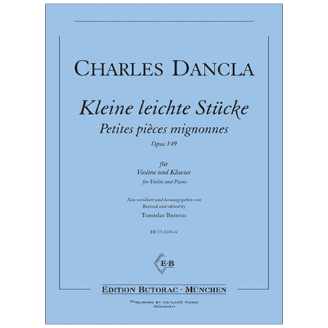 Dancla, J. B. Ch.: Kleine leichte Stücke Op. 149