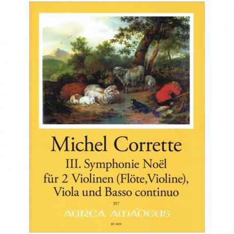 Corrette, M.: 3. Weihnachtssinfonie