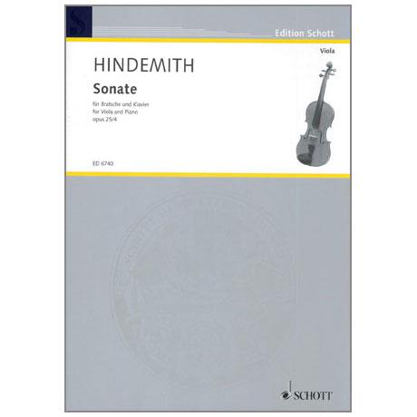 Hindemith, P.: Violasonate Op. 25/4