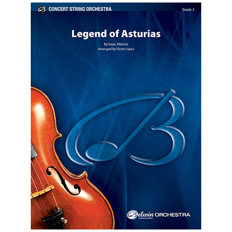 Albéniz, I.: Legend of Asturias