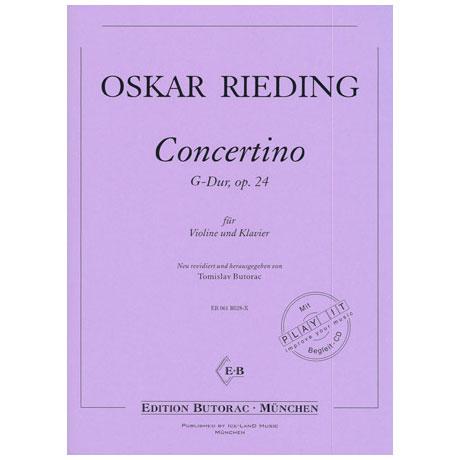 Rieding, O.: Concertino Op. 24 G-Dur (+CD)