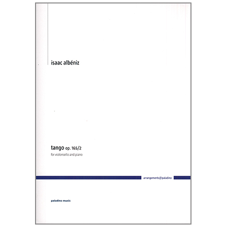 Albéniz, I.: Tango Op.165/2
