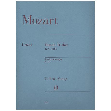 Mozart, W. A.: Rondo D-Dur KV 485