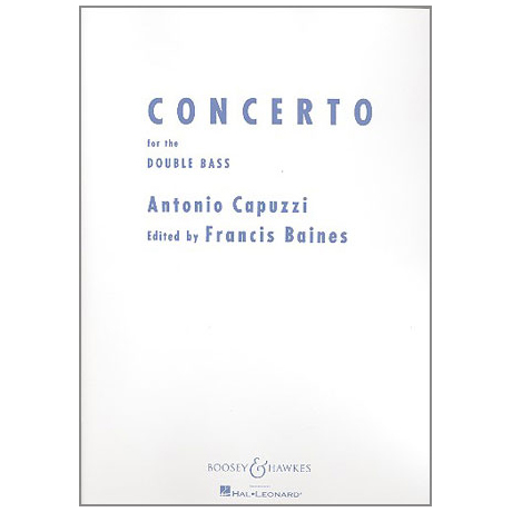 Capuzzi, G. A.: Concerto F-Dur