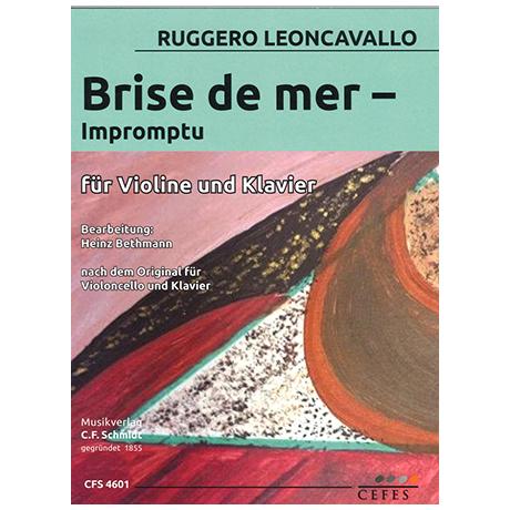 Leoncavallo, R.: Brise de mer – Impromptu