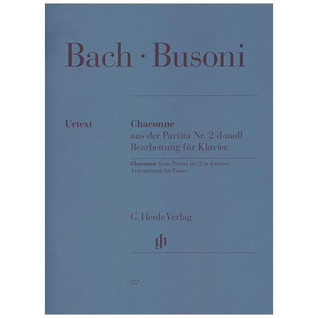 Bach/Busoni: Chaconne d-Moll BWV1004