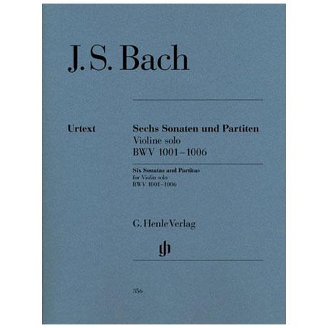 Bach, J.S.: 3 Sonaten und 3 Partiten BWV 1001 - 1006 Urtext